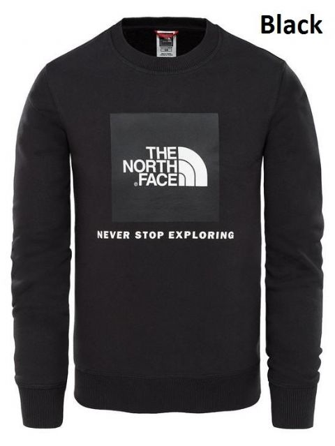 The North Face Boys Youth Box Crew - Longsleeve